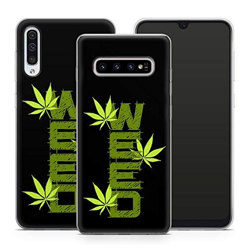 Handyhülle Cannabis für Samsung Silikon MMM Berlin Hülle Marihuana Weed Grass Hanf Canabis Bang, Kompatibel mit Handy:Samsung Galaxy S20 FE, Hüllendesign:Design 6 | Silikon Klar
