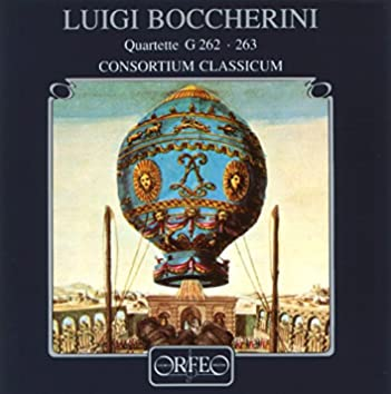 Boccherini: Wind Quartets, G. 262 & 263