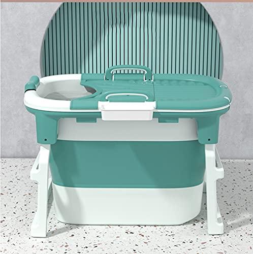 CKRBACY Bañera de bebé, bañera de bebé para bebé, bañera de niños, Bucket de natación para bebés, 102x66x71.5cm,Azul