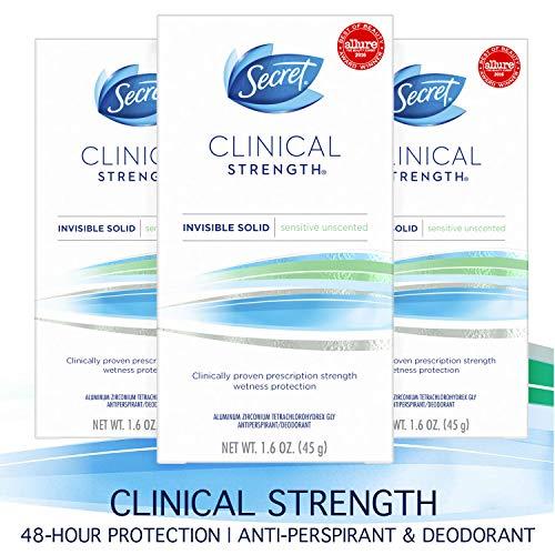 Secret Antiperspirant Deodorant for Women review