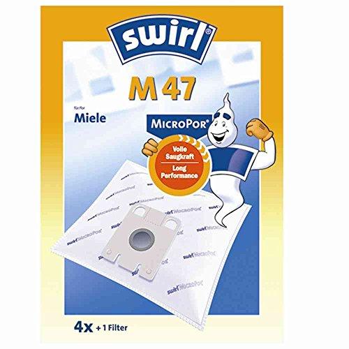 Melitta 177356 Staubbeutel für Miele M 47 Micropor (Ve4)