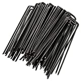 GardenMate Set of 100 Steel Tie Stakes 2.9mm, 150mm Long, 25mm Wide