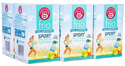 Teekanne frio Sport Apfel-Zitrone Magnesium, 18 Teebeute, 6er Pack