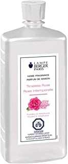 Timeless Rose   Lampe Berger Fragrance Refill for Home Fragrance Oil Diffuser   Purifying and perfuming Your Home   16.9 Fluid Ounces - 500 millimeters   Made in France