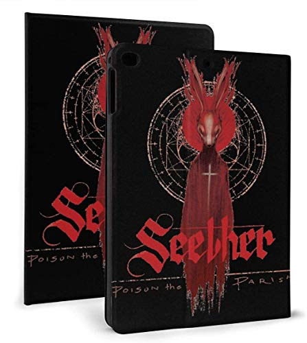 Seether Poison The Parish Pu Leather Smart Case Auto Sleep/Wake Feature for Ipad Air 1/2 9.7' Case