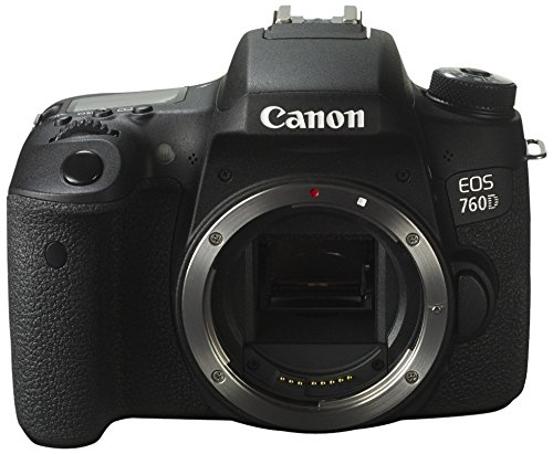Canon EOS 760D - Cámara réflex Digital de 24.2 MP (Pantalla táctil 3