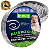 Flea and Tick Prevention Collar One Size Fits All Dogs and Cats Flea and Tick Control with Adjustable Design