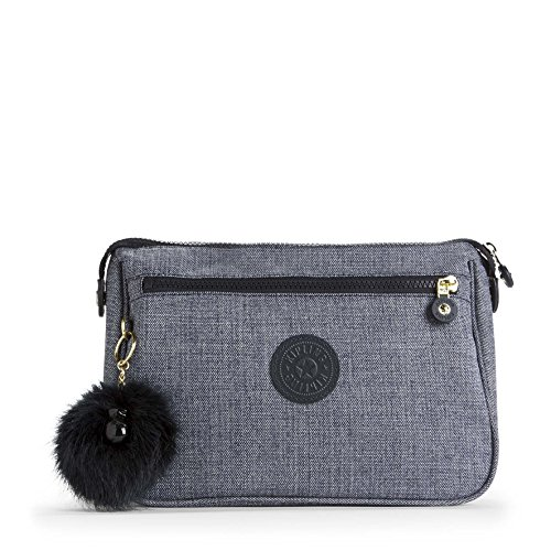 Kipling Puppy Trousse à Maquillage, 25 cm, Bleu (Cotton Jeans)