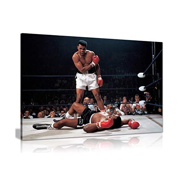 Large Framed Muhammad Ali Print