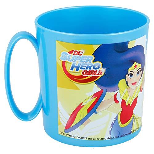 Superhero Girls Tazza in plastica Micro 350 ml (Stor 87804)