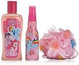 Hasbro My Little Pony gift set Eau De Toilette, Shampoo, spugna, Tasca, 1 pacchetto (1 x 4 pz)