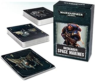 Datacards: Space Marines Warhammer 40,000 (2017)