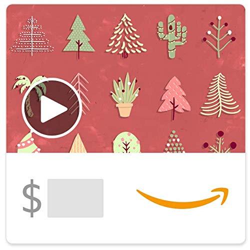 Amazon eGift Card - Festive Trees (Animated)