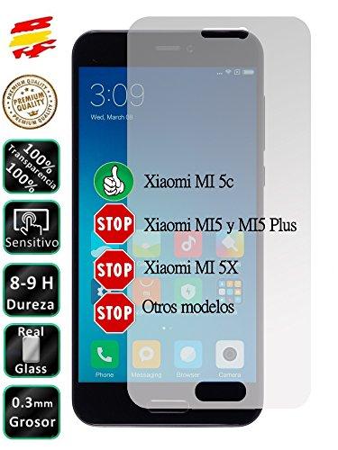 Movilrey Protector para Xiaomi MI 5C MI5C Cristal Templado de Pantalla Vidrio 9H para movil