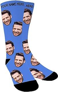 Calcetines Personalizados Foto,Personalizable Calcetines,Pon tu Foto en Calcetines para Hombre,Mujer