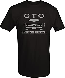 Stealth - Pontiac GTO Goat American Thunder Front Grill Racing Parts Muscle Car Big and Tall T Shirt - 2XL