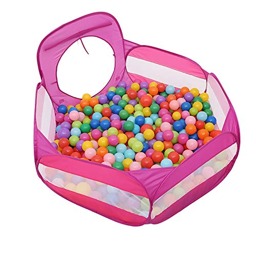 Best Deals! YYHSND Children's Play Fence Children's Ball Pit Toddler Ball Baby Game Pit Storage Bag ...