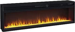 Ashley Wide Fireplace Insert in Black