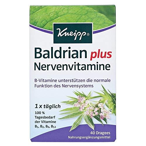 Kneipp Baldrian plus Nervenvitamine, 40 St