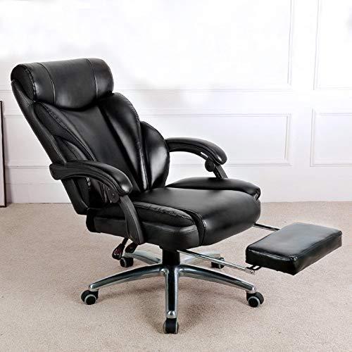 LFEWOZ - Silla de juego de carreras ergonómica y ergonómica, silla de ordenador para estudio, casa, sala de conferencias, oficina ejecutiva, transpirable, oficina