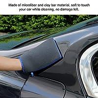 自動洗車粘土ミット表面除染グローブタオルためディテール自動ケア洗車手袋新ポータブル