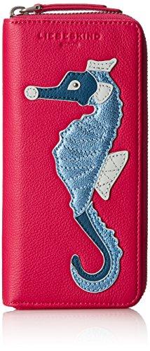 Liebeskind Berlin Damen Gigif8 Seacre Geldbörse, Pink (Bright Rose), 3x10x21 cm