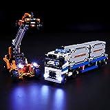 BRIKSMAX Kit di Illuminazione a LED per Lego Technic Trasporta Container,Compatibile con I...
