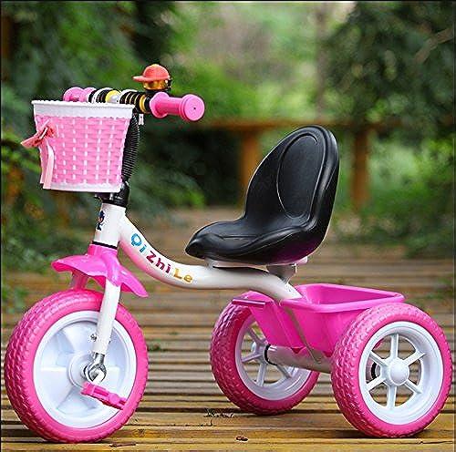 Kinder-Dreirad-m liches mädchen-fürrad-Kinderfürrad-Baby-Laufkatze 2-5 Jahre alt ( Farbe   Rosa )