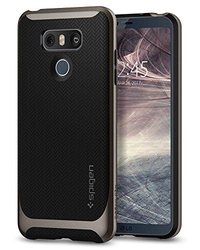 Spigen, SGP, Cover Neo Ibrida, Colore Canna di Fucile, per LG G6