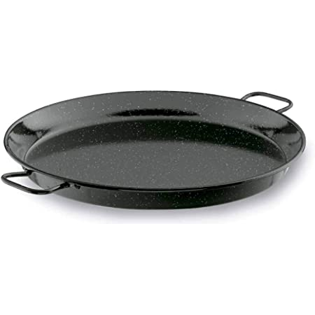Lacor - 60141 - Paellera Esmaltada 40 cms. - Negro