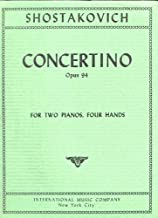 Concertino,opus 94 two pianos-four hands