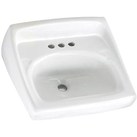 Kohler K 2032 0 Greenwich Wall Mount Bathroom Sink White Wall Mounted Sinks