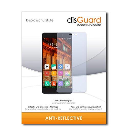 disGuard Displayschutzfolie für Elephone P9000 Lite [2 Stück] Anti-Reflex, MATT, Entspiegelnd, Extrem Kratzfest, Anti-Fingerabdruck - Displayschutz, Schutzfolie, Panzerfolie