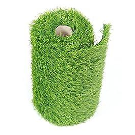 BUNDMAN Coureur Artificiel d'herbe Le Tapis d'herbe de Faux Vert de Gazon synthétique pour la décoration extérieure de…