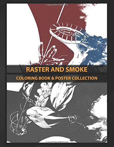Coloring Book & Poster Collection: Raster And Smoke Batman Comics