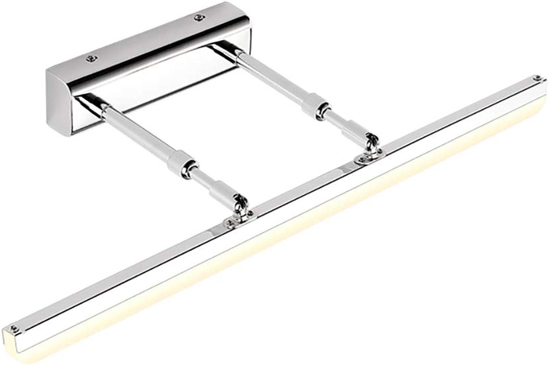ZMFL Spiegelleuchten LED Spiegel Scheinwerfer Badezimmer Wandleuchte Teleskop Spiegel Schrank Lampe Wasserdicht Anti-Fog-Spiegel Licht Warmes Licht Weies Licht, Fünf Lngen Sind Optional.