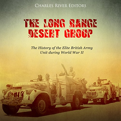 The Long Range Desert Group audiobook cover art