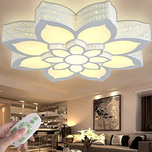 Luz De Techo LED Lámpara De Sala De Estar Regulable Con Control Remoto 3000K-6000K Lámpara De Acrílico Guardería Niños Niñas Iluminación De Techo Bar Comedor Decoración Lámpara Colgante (65CM/48W)