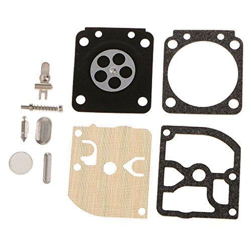 FLAMEER Vergaser Carb Repair Reparatur Kit Dichtung Membrane für Zama C1Q Vergasern: C1Q-S54 -S63 -S63A -S66 -S78 -S94, einfach instaliert