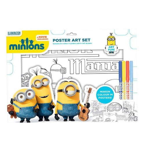 Anker MSPOS Minions Poster Art Set