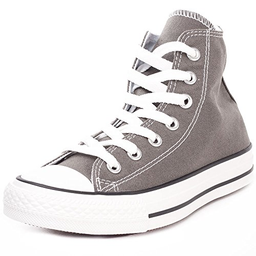 Converse Chuck Taylor All Star Hi Top, Zapatillas Unisex Adulto, Gris (Charcoal), 38 EU