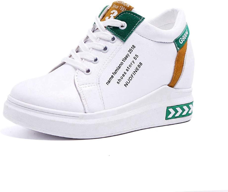 U-MAC Womens Flat Sneakers Travel Loafer Casual Mid Heels Wedge Platform Flat shoes Comfortable Slip On
