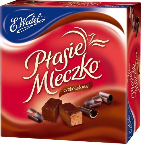 Ptasie Mleczko - Pralinen - Schoko // Ptasie Mleczko - Czekoladowe - Wedel - 380g