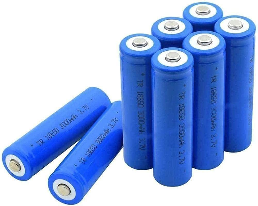 Max 56% OFF Battery Cell for Ranking TOP8 18650 Battery3 Rechargeable Lithium 3000Mah 7V