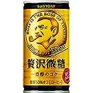 サントリー コーヒー ボス 贅沢微糖 185g×30本