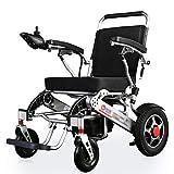 Heavy-Duty Electric Wheelchair, Foldable, 29kg Lightweight Power...