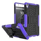 FaLiAng Sony Xperia XA Ultra Funda, 2in1 Armadura Combinación A Prueba de Choques Heavy Duty Escudo...