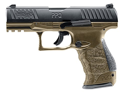 Umarex T4E Walther PPQ .43 Caliber Training Pistol Paintball Gun Marker, Flat Dark Earth