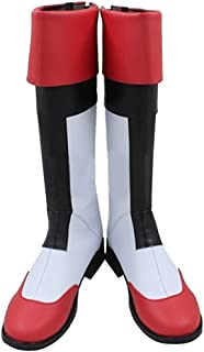 Halloween Voltron Legend Keith Lance PU Shoes Cosplay Boots Custom Made