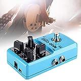 DGHJK Mini Efecto Peda Guitarl 8 Efectos De 32 bits De Metal Procesador De Señal Digital con True Bypass